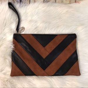 Carlos by Carlos Santana Chevron Clutch